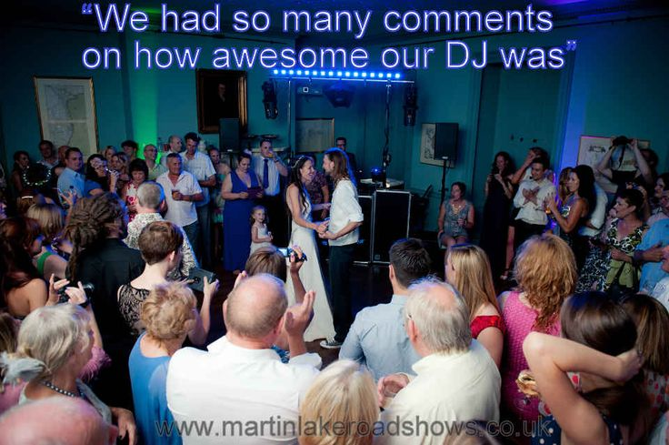 A romantic first dance at Trafalgar Park, Salisbury - DJ Martin Lake