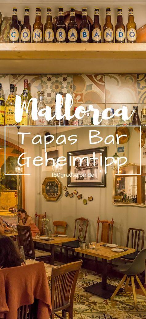 Mallorca Tapas Bar Contrabando in Llucmajor – Restaurant Tipp