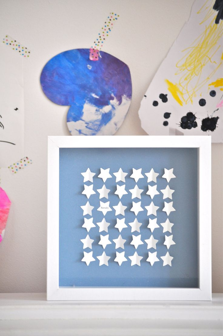 Personalized Little Stars - small size - Newborn, Christening gift. $72.00, via Etsy.