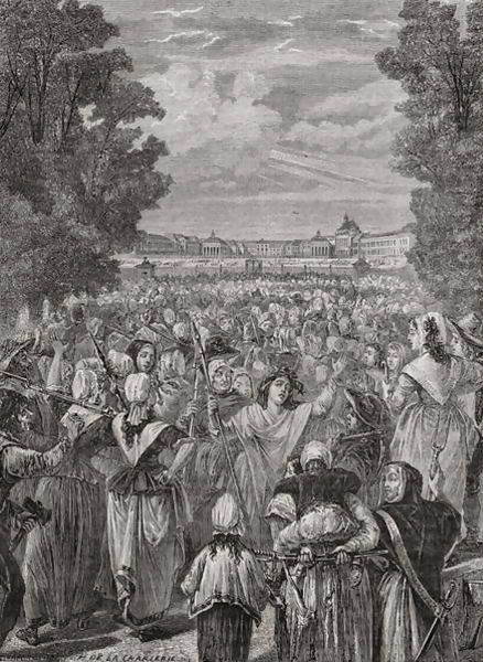 The-Women-March-On-Versailles,-5th-6th-October-1789