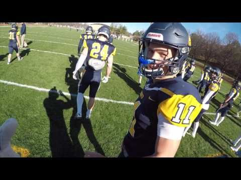 NCAA D3 College Football Gameday: A Player's Perspective!!! (GoPro HD)