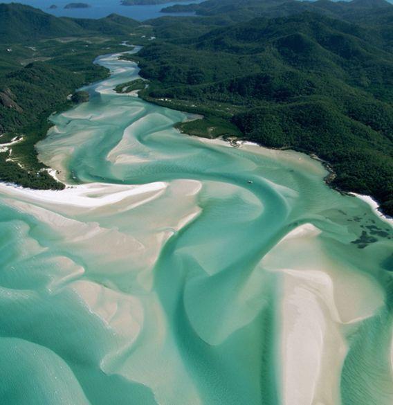 ホワイトヘイヴンビーチ(オーストラリア)