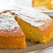 Torta soffice all'arancia e panna