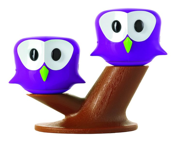 Pic & Nic Salt and Pepper Shaker Set Not much is known about these elusive birds. I do know that they are a hoot on any dinner table. These modern-day owls stay on the branch due to magnets. http://theceramicchefknives.com/owl-salt-and-pepper-shakers/