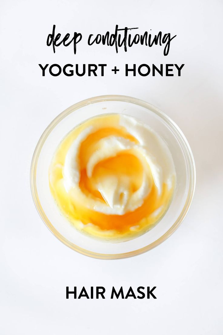Dry, brittle. Can't deal in humidity. Frizzes out if you brush it. If this is your hair, this anti-frizz yogurt + honey hair mask will  be your new favorite! | littlegreendot.com