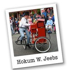 Hokum W Jeebs on Piano Cycle