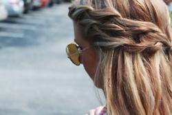 : Braids Hairstyles, Waterf Braids, Haircolor, Summer Hair, Long Hair, Double Braids, Hair Style, Side Braids, Hair Color