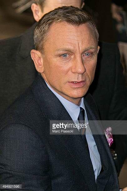 Actor Daniel Craig attends the '007 Spectre' Paris Premiere at Le Grand Rex on October 29 2015 in Paris France