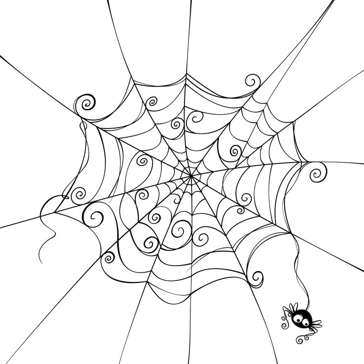 drawings of halloween pictures | Halloween spider drawing « CBS New York