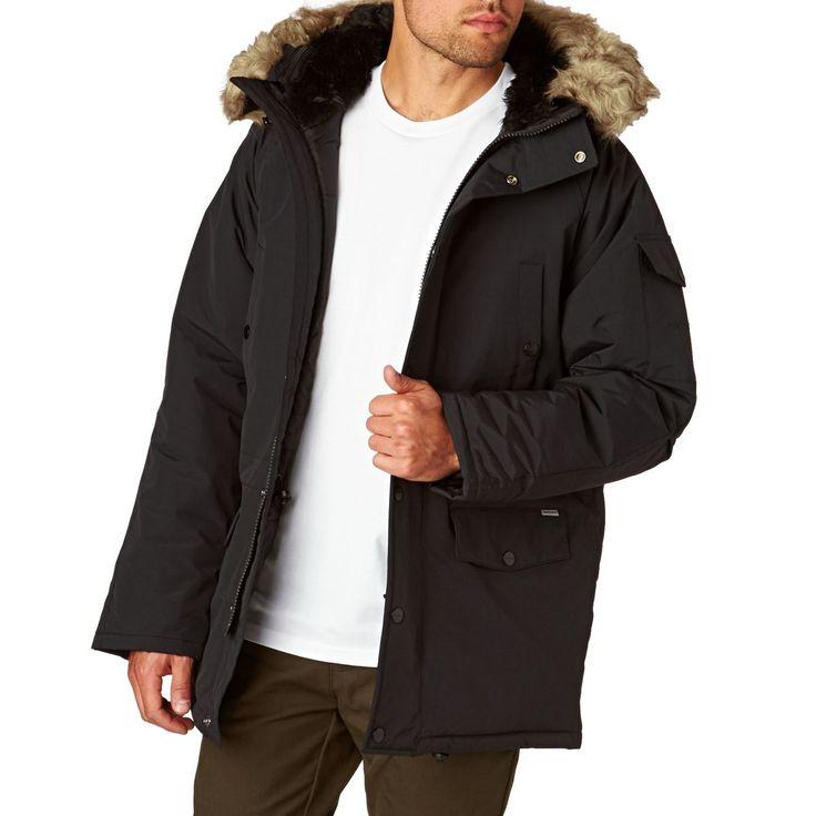 Carhartt Anchorage Parka Jacket - Black