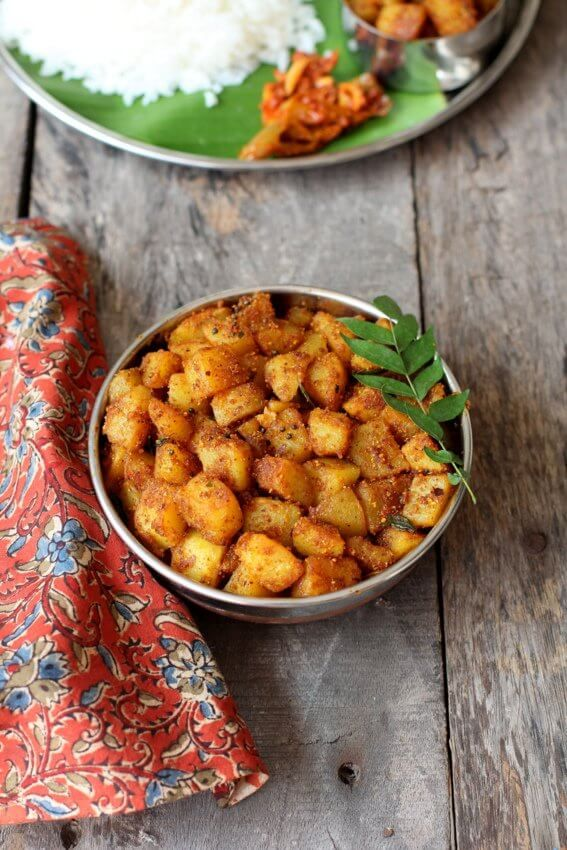 61 best winter delicacies images on pinterest veg recipes aloo fry recipe an easy quick crispy fry made with potatoes spices forumfinder Images