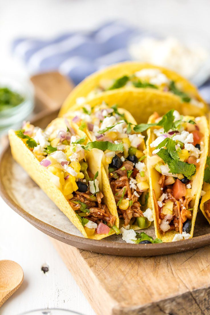 ... Recipes on Pinterest | Crock pot corn, Slow cooker spaghetti and Tacos