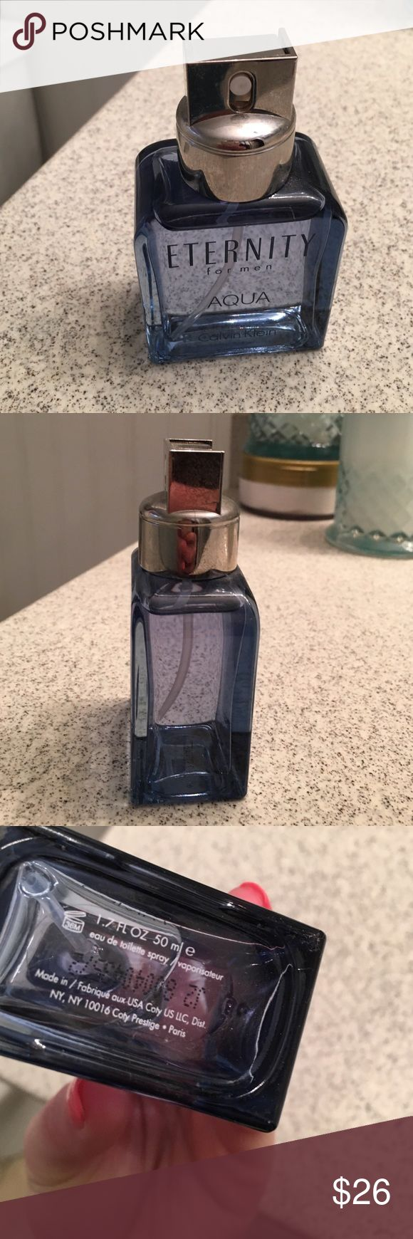 Fathers Day Special * Calvin Klein Eternity Men's cologne- new sprayed maybe 2x spells excellent Calvin Klein Accessories