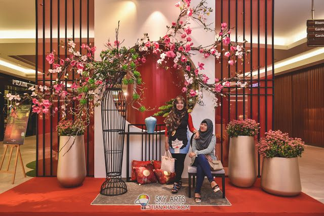 Cny Decoration Here Is So Beautiful That You Should Take Your