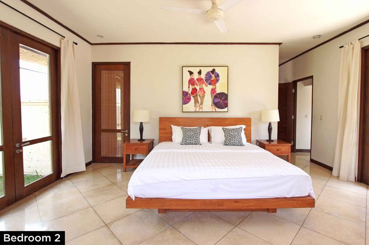 Bedroom 2 • PRIVATE POOL VILLA ON SANUR, BALI • FOR SALE • 800m2 land area • 2 Bedroom villa with private pool • Gated estate with expatriate villas • 24 hours security • 500 metres from bypass Sanur • 25 years leasehold • For Enquiries: (+62) 0819 9941 1123 • Email: info@villakambojasanur.com