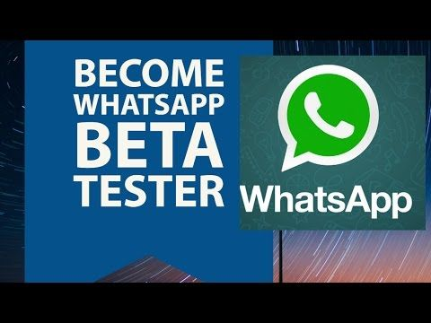WhatsApp Beta Tester : How To Become WhatsApp Beta Tester