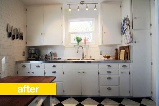 Tiny 1940s Kitchen Remodel