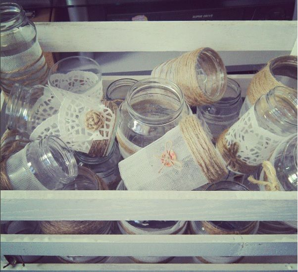 wedding jars