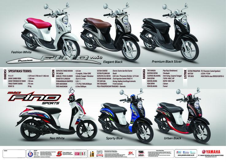 Pilihan warna dan spesifikasi yamaha fino fi dealer for Yamaha dealers in my area