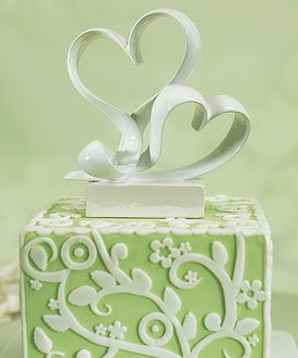 Wow! This wedding cake topper will be perfect for my contemporary wedding theme. Love it!