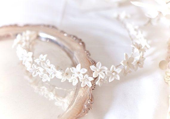 Copricapo di belle Copricapo da sposa collezione di JonidaRipani