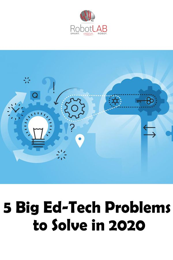 5 Big Ed Tech Problems To Solve In 2020 In 2020 Educational Technology Edtech Education