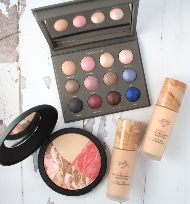 Summer makeup to add to your beauty collection from Laura Geller including her brand new Baked Liquid Radiance Foundation and some great baked eye makeup.