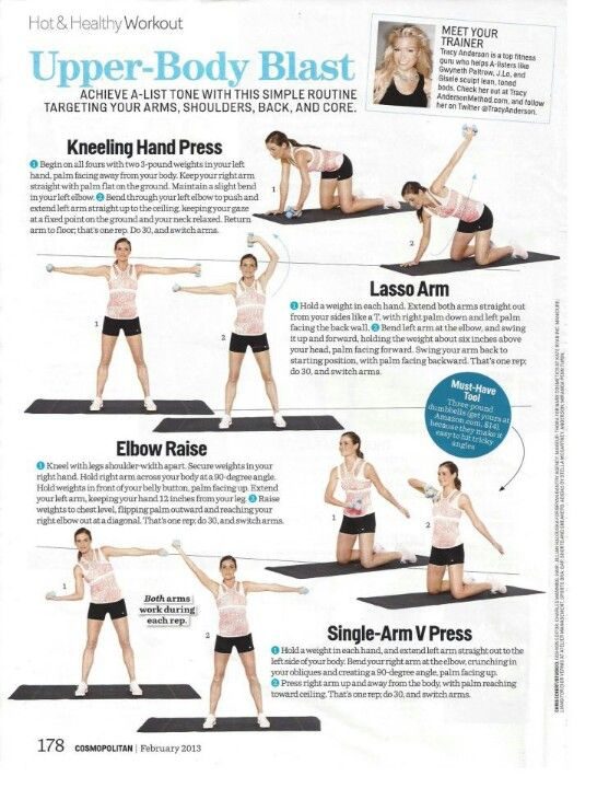 Best upper body workouts images on pinterest