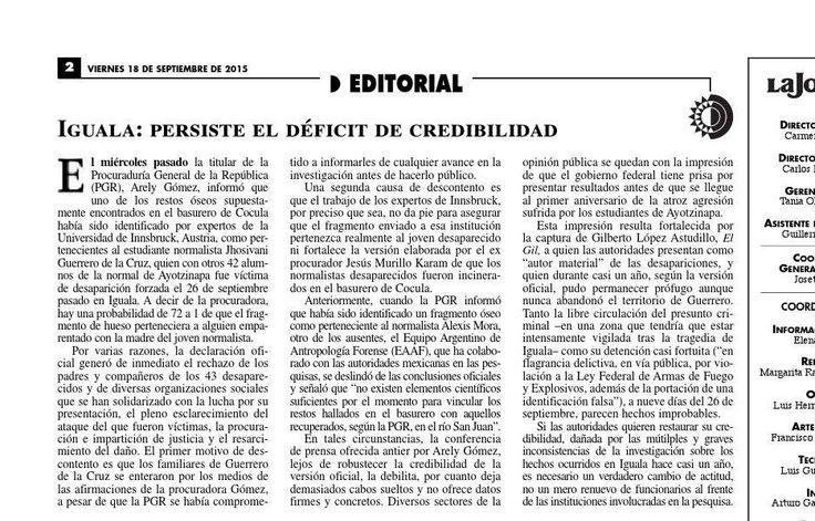 #ClippedOnIssuu from La Jornada, 09/18/2015