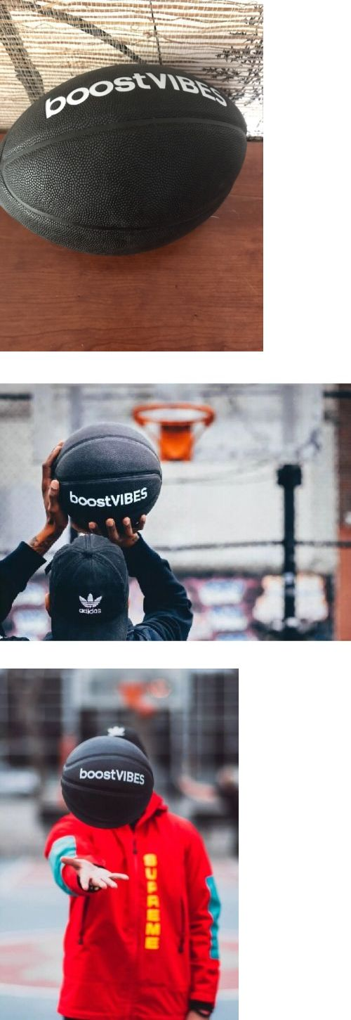 Balls 21208: Boostvibes Basketball Adidas Rls Black Yeezy Ultra Boost Nmd New Rare Sold Out -> BUY IT NOW ONLY: $99 on eBay!
