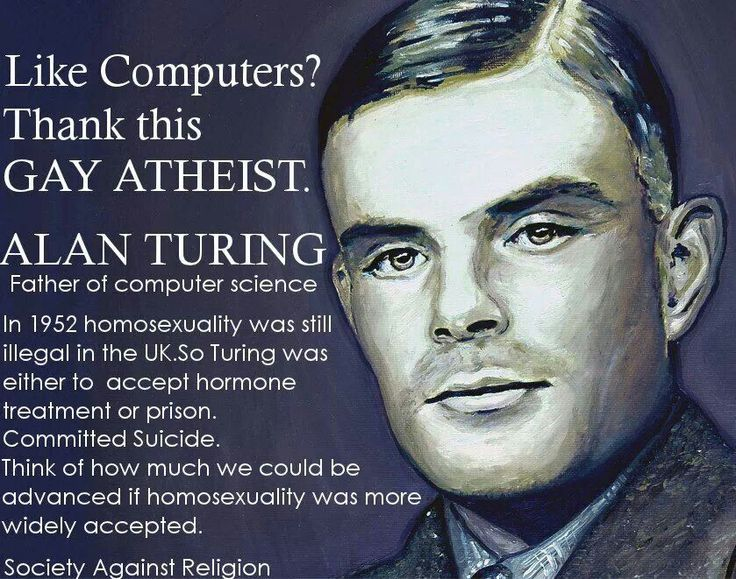 Alan Turing, Father of computer science. | Alan Turing | Pinterest ...