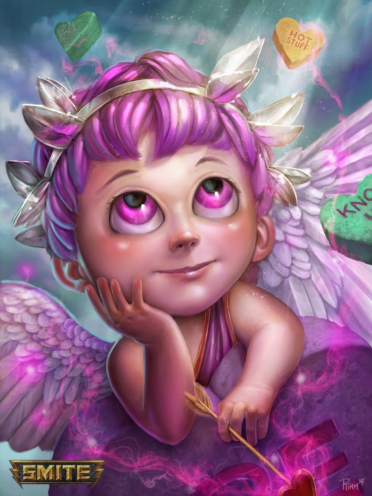 Cupid Lover Boy Smite Skin by PTimm