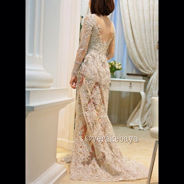 Long Wedding Kebaya Verakebaya IG