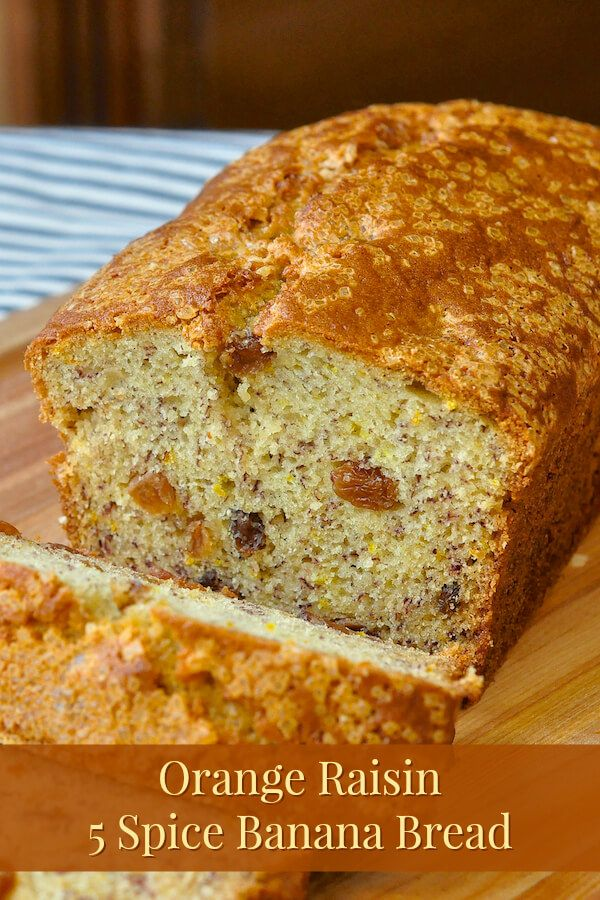 Spices, Orange and Banana bread on Pinterest