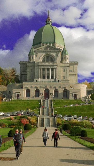 Oratoire Saint-Joseph, Montreal, Canada... biggest church I've been to, aside from churches in Italy