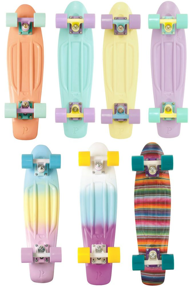 GENUINE Penny Skateboard Pastels Original Cruiser 22 In. Mint Lemon Lilac Girls