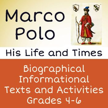 the early life and works of marco polo Early life marco polo was born around 1254 into a wealthy venetian merchant family, though the actual date and location of his birth are unknown his father, niccolo, and his uncle maffeo were successful jewel merchants who spent much of marco's childhood in asia marco's mother died when he was.