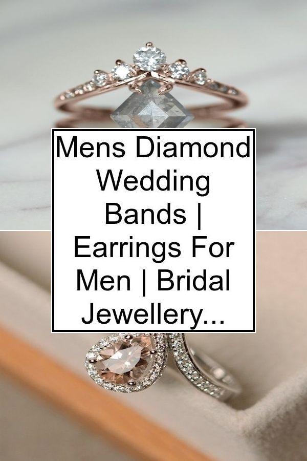 Mens Diamond Wedding Bands Earrings For Men Bridal Jewellery In 2020 Engagement Rings Mens Diamond Wedding Diamond Engagement Rings