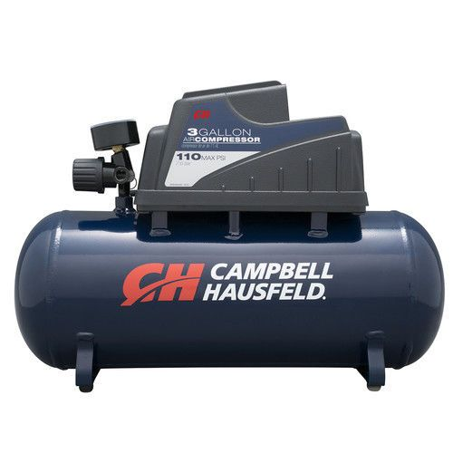 Campbell Hausfeld 3 Gallon Oil-Free Air Compressor DC030000 New #CampbellHausfeld