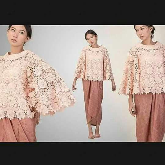 100+ Model Baju Kebaya Modern Terbaru 2017