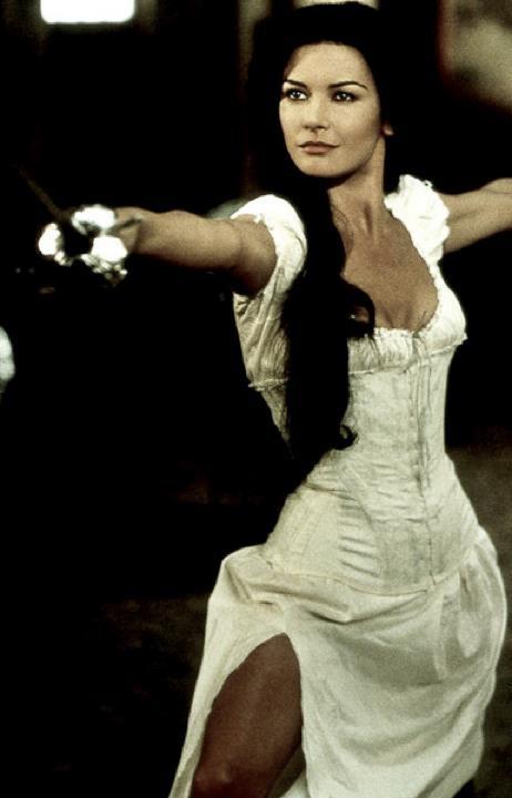 Catherine Zeta-Jones in The Mask of Zorro