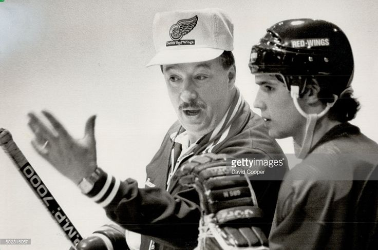 Red Wings coach Jacques Demers has turned a team of misfits - We have 16 players here who were rejected by other teams - into one of the NHL's better clubs. Steve Yzerman (right), however, is not included in that list of former non-desirables. The talented Red Wing captain is fourth in the NHL scoring race, 1988