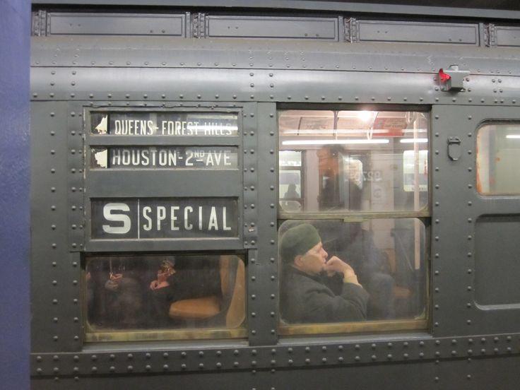 Vintage NYC Subway type