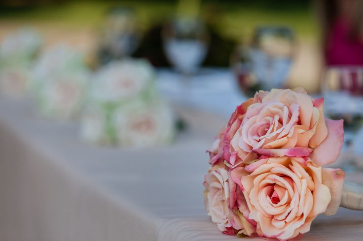 I enjoy simple things in life. Squamish Wedding. Pink Bouquet. Head Table.