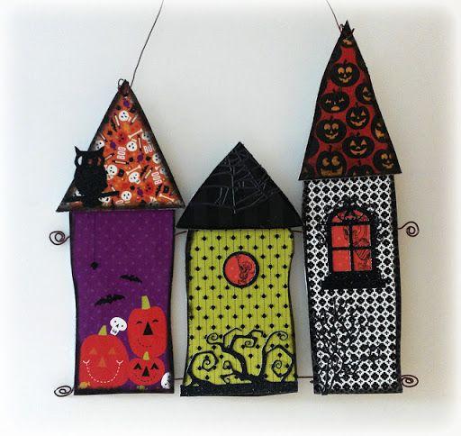 Belated Halloween Houses