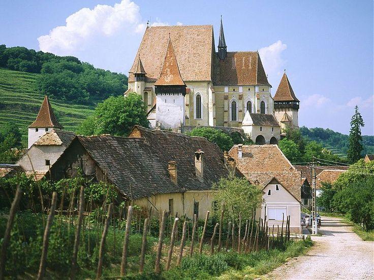 Biertan Village in Transylvania, Romania - The Fortified Church