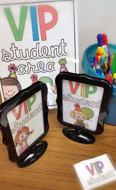 O-H So Blessed! my version of the VIP Student treatment for positive classroom management - freebies included!