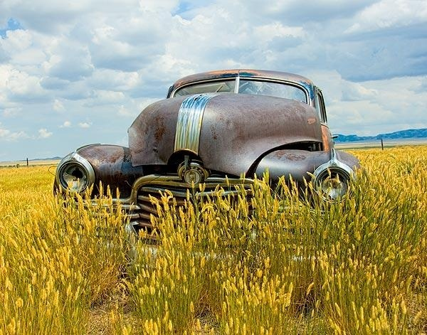 A fine art photo of an old Pontiac rust bucket.: Rust Buckets, Pontiac Rust, Fine Art, Galleries Photographers, Abandoned Rustic, Dust Abandoned, Abandoned Photographers, Art Photos, Abandoned Vehicles