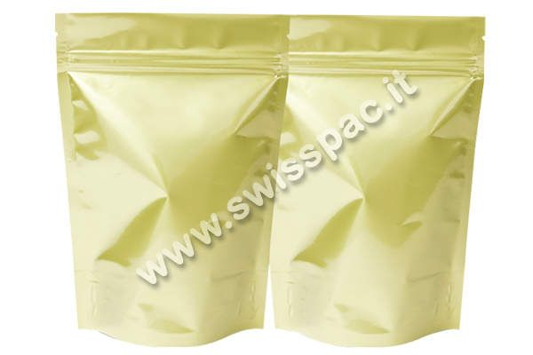Oro Opaco/Oro opaco  #BustePerSpezie http://www.swisspac.it/buste-per-spezie/
