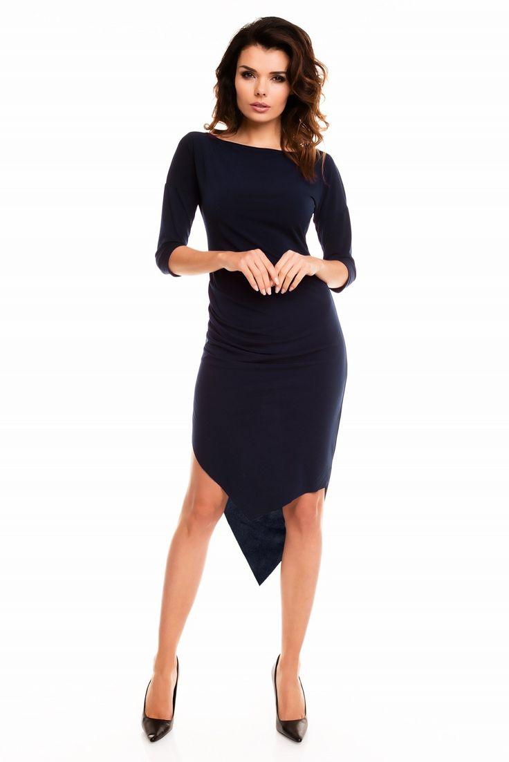 :)  #sukienka #mokado #moda #odziez #fashion #trendy #style  https://www.mokado.pl/Sukienka-Damska-A131-Navy-p19299
